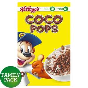 Coco pops 2 800g packets for £5 at Morrisons
