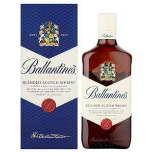 Ballantine's Blended Whisky 70cl £15 at Tesco in-store and online