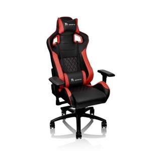 Thermaltake E-Sports GTF100 Black & Red Fit Series Gaming Chair, Free RGB mechanical keyboard worth 84.99 - £329.99 @ Box.co.uk
