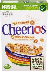 Nestle Cheerios 375g £1.19 Better than Half Price @ Iceland