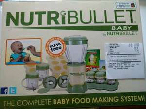 Nutribullet Baby £17 at Morrison's