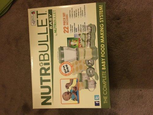 Nutri Bullet baby £18 instore @ Morrisons - Bradford