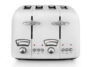 Delonghi Argento C40 4 slice toaster white £20 Tesco instore - Mogden Lane Isleworth