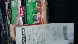 2 X 907g Bacon Mis shapes Heron Foods £1 each or 2 for £1.49