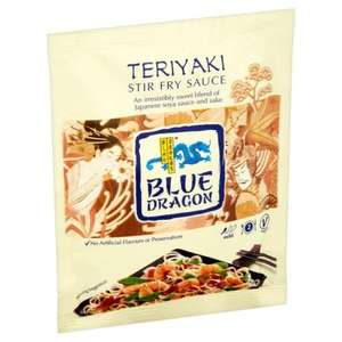 BLUE DRAGON TERIYAKI/SWEET SOUR WOK SAUCE 120G X4 £1.00 @ Heron