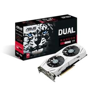 Asus Radeon DUAL RX 480 GDDR5 4GB OC VR Gaming Graphics Card £154.99 at awd-it