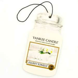 Yankee candle car air freshener 50p instore @ Tesco