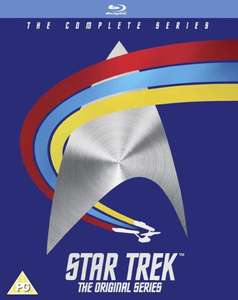 Star Trek The Original series Blu Ray set £33.99 @ zavvi and 50th anniversary steelbooks £9.99