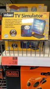 TV SIMULATOR £2.99 @ B&M