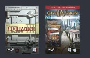 [Steam] Humble Civilization Bundle-£0.86 (HumbleBundle)