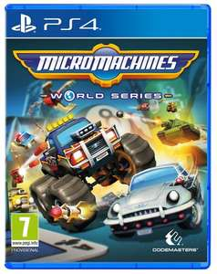 Micro Machines World Series PS4 @ Amazon £19.99 or £17.99 (prime)