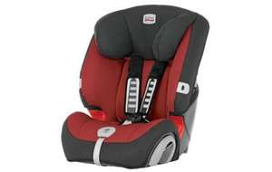 britax evolva 123 plus in chilli pepper - £20 (+ Further 10% off today) @ Halfords