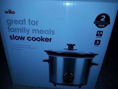willko slow cooker 3.5 ltr  - £10 instore