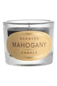 Scented Candle in Glass - Mahogany/Wild Flower/Cotton @ H&M - 80p (with code)