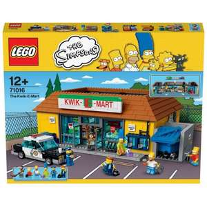 Lego - The Simpsons Kwik e mart £20 off - £149.99 at Smyths with Free Delivery