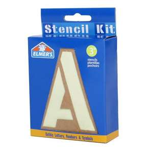 """3"""" Reusable Letters, Number and Symbol stencils £1.98 delivered @ Brooklyn Trading (For signs / school projects ect...)"""
