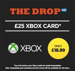 The Drop in HD + £25 Xbox Credit for £18.99 @ Wuaki