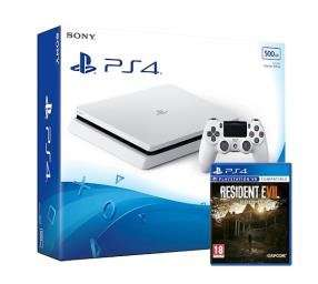 PS4 Slim 500GB + RE7 £228.99 @ Grainger games