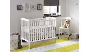Kinder Valley Kai Cot (White) £18.00 INSTORE at ASDA - Glasgow Fort