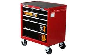Half price - Halfords Professional 5 Drawer Ball-Bearing Cabinet 124.00 add code WORK15 and it reduces price to £105.40
