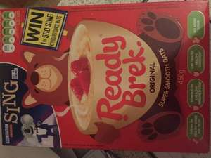 Ready Brek original and chocolate 450g box is reduced to 75p @ Nisa - Swansea