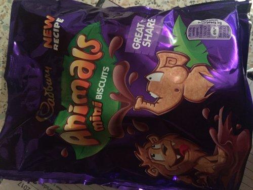 Caburys Animals mini biscuits 125g bag 35p @ Co-op Swansea