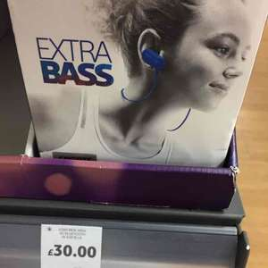 Sony MDR-XB50 wireless earphones sport £15 Tesco in store, £60 at ao, Argos and Amazon.