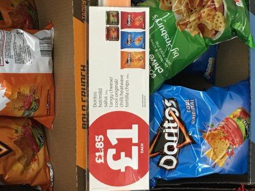 Doritos 180g £1 & Doritos Dips £1 (All flavours) Instore & Online @ Sainsbury's