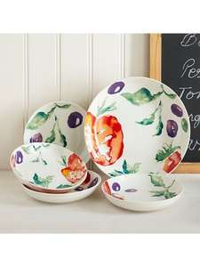 Linea Painterly Pasta Bowl Set £12.00 + £2 C&C (£14) @ House of Fraser