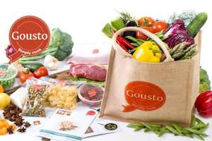 £25 off your first Gousto meal box (3 mains for 2 people) + 38.5% Cashback - £9.99 @ Gousto (via Quidco)