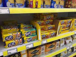Tuc biscuits 10p at Poundstretcher