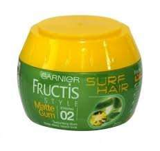 Garnier Fructis matte gum, surf hair, strong hold £1 Poundworld, Cosham, Hants