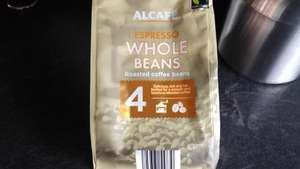 Alcafe Roasted Coffee Beans @ Aldi £1.69 for 200g