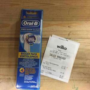 Oral B Toothbrush Heads £5.60 @ Wilko - Epsom (Surrey)