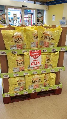 Walkers Sunbites Variety 4 x 6 pk - £1.75 @ Heron Foods