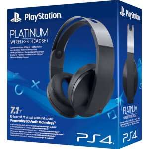 Playstation platinum headset £119.86 usually £129.99 Will also get £3 in points at checkout @ shopto