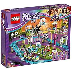 LEGO Friends amusement park rollercoaster construction set reduced to £64.99 @ Amazon