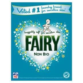 Fairy Non-Bio Washing Powder 40 Washes, was £11.00 now £5.50  (2.6kg) at Waitrose