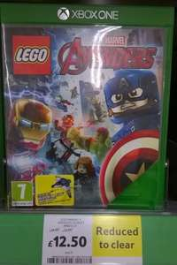 Lego Marvel's Avengers Xbox One with Quinjet toy £12.50 instore @ Tesco