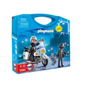 Playmobil Police Carry case 5891 £4.99  @ Smyths Toys (+ others)