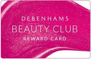 Free benefit eyebrow wax at Debenhams on your birthday when you join Debenhams beauty club @ Debenhams