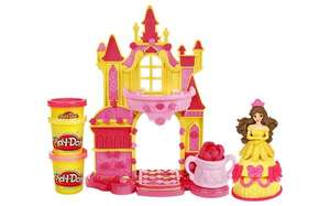 Play-Doh Disney Prettiest Princess Belle's Castle now only £5.99 at Argos