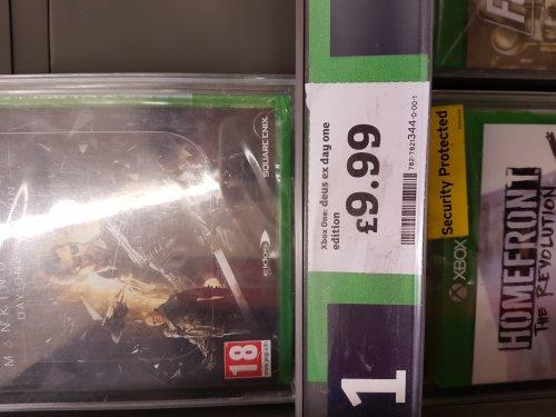 Sainsbury's - Xbox One Deus Ex Mankind Divided Day One Edition£9.99