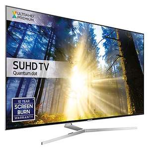 Samsung 49KS8000. Price match John Lewis for free 4K Bluray player! £999 @ Sonic direct