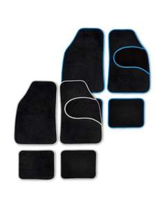 Car mats. Fabric or Rubber only £6.99 at Aldi.