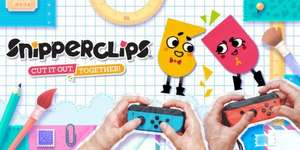 Snipperclips joy con bundle neon red and blue controllers Nintendo switch £84.85 @ ShopTo