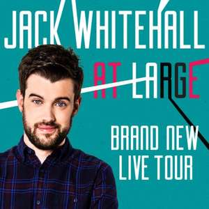 Jack Whitehall Sunday 26th February Birmingham HALF PRICE just £19.08 (inc fees) if bought with a barclaycard