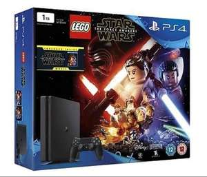 PS4 1tb Slim Console with Lego Star Wars and Star Wars Force Awakens Blu-ray £219.85 @ ShopTo