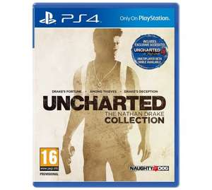Uncharted Nathan Drake Collection - PS4 - £19.99 @ Argos