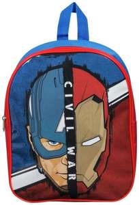 (instore only) Captain America Civil War Backpack £3.49 @ Argos ebay (Free C+C)